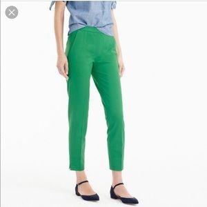 JCrew Martie slim crop pants 000